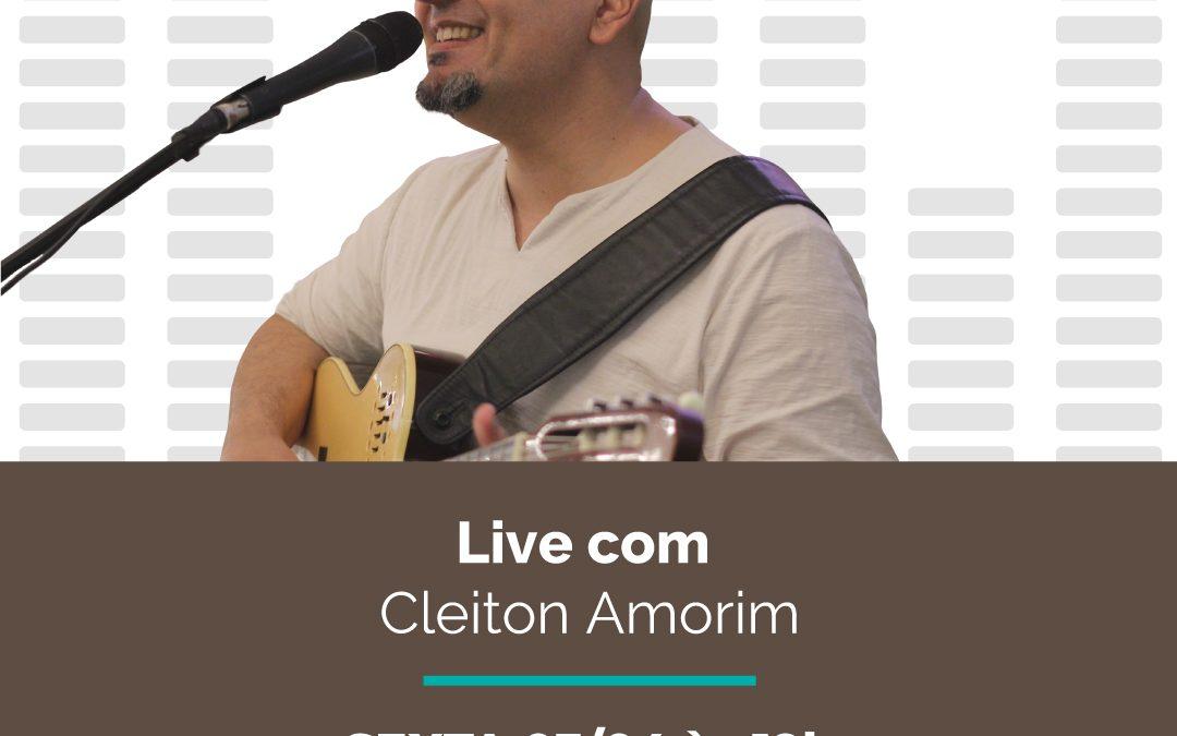 03/04: Live com Cleiton Amorim e Opções Delivery e Takeaway