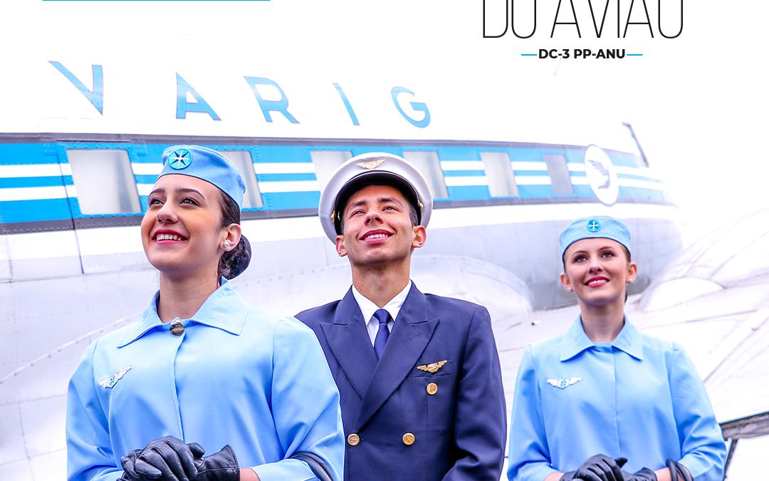 Visitas a bordo do DC-3 da Varig