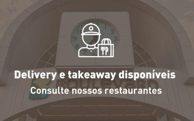 Restaurantes com Delivery e Takeaway (pegue e leve)
