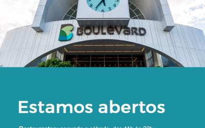 Lojas em funcionamento no Boulevard Assis Brasil